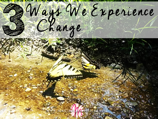 3 Ways We Experience Change | Making the Most Blog