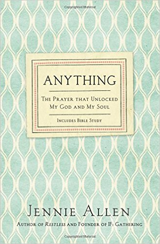 Anything: A Book Review | Making the Most Blog