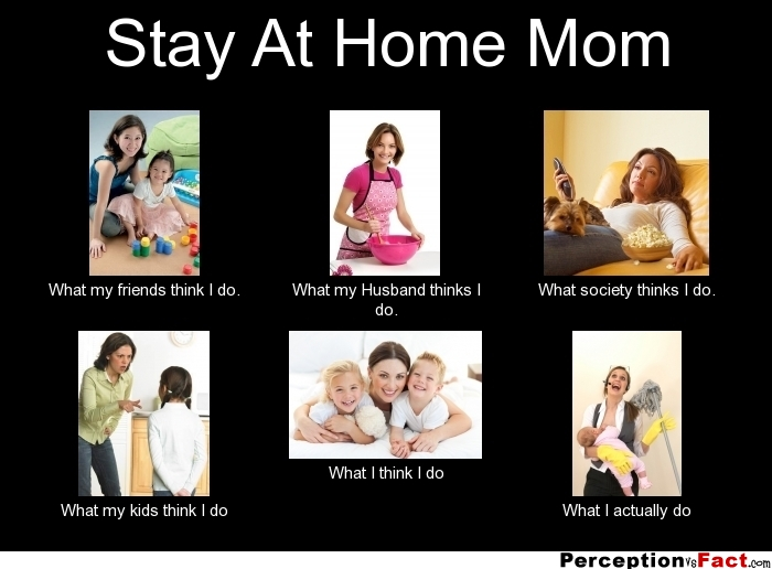 A Day in the Life of a Stay at Home Mom | Making the Most Blog