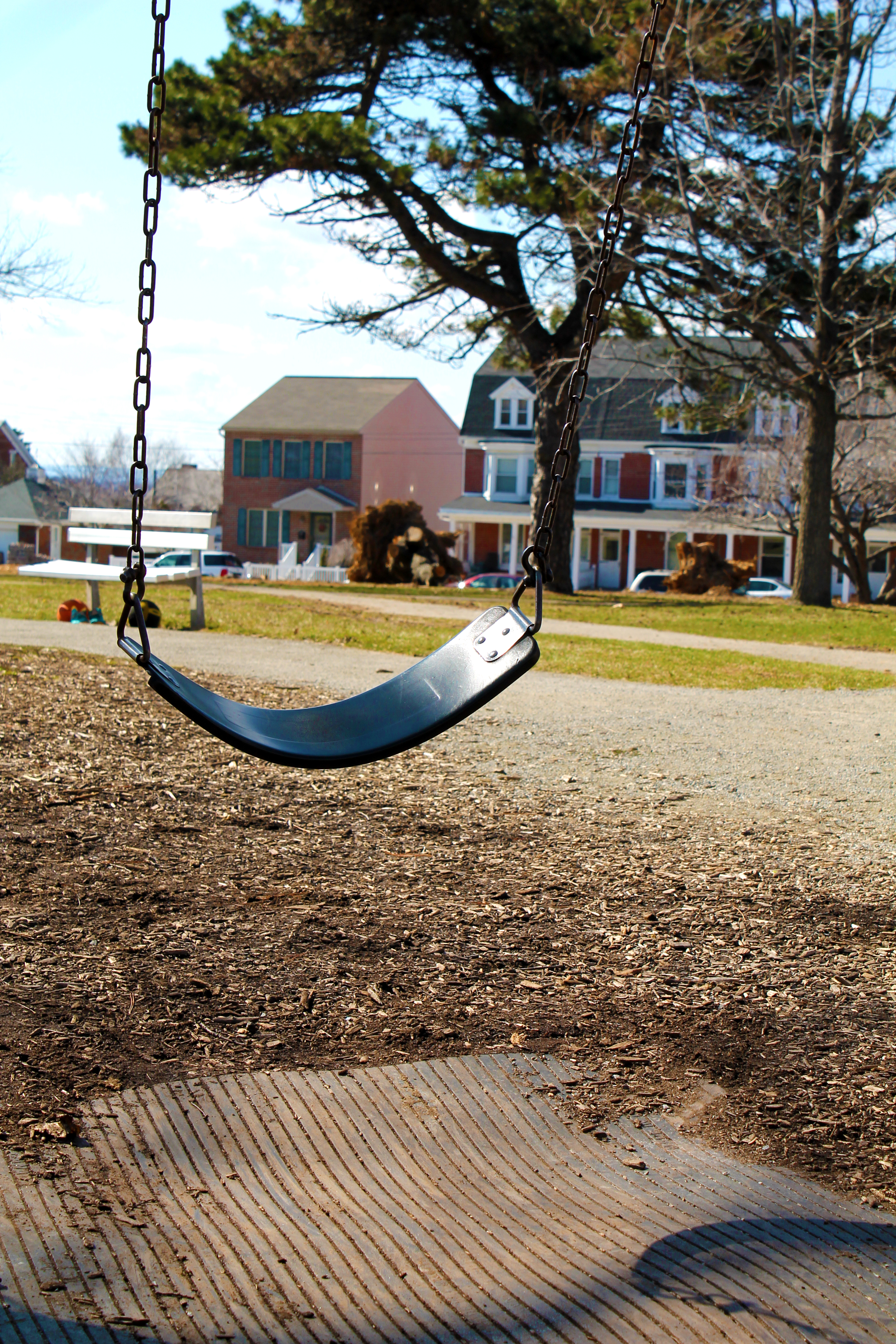 Empty Swing | Work in Progress Wednesday: Photo Editing | Making the Most Blog