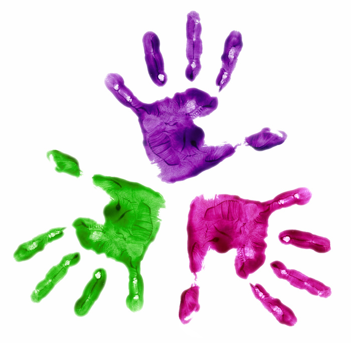 Colorful Hands | How a Penny Taught My Daughter About Diversity | Making the Most Blog