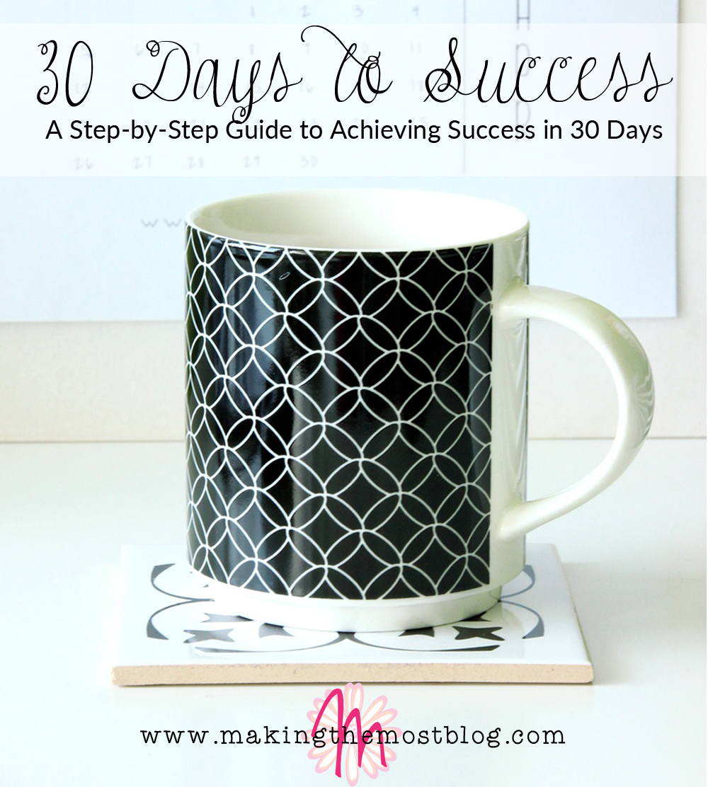 30 Days to Success: A Step-by-Step Guide to Achieving Success in 30 Days